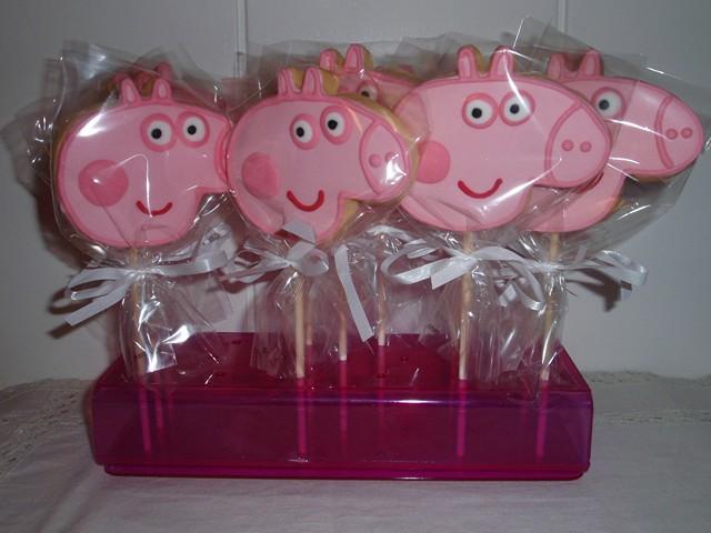 Galletas Decoradas De Peppa Pig Tarta De Manzana