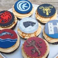 Cupcakes de Juego de Tronos