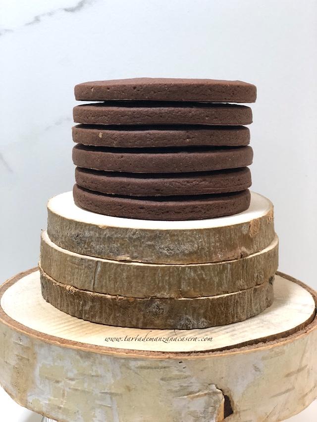 Galletas De Chocolate Para Decorar Tarta De Manzana